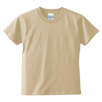 ベージュ United Athle 5.6oz Tシャツ(kids)