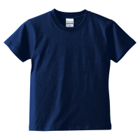 ブルー United Athle 5.6oz Tシャツ(kids)