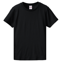 ブラック United Athle 5.6oz Tシャツ(women)