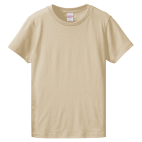 ベージュ United Athle 5.6oz Tシャツ(women)