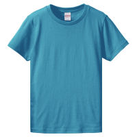 ブルー United Athle 5.6oz Tシャツ(women)