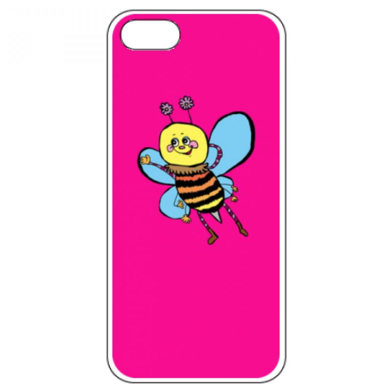 ゆるい感じのハチのオリジナルiPhoneケース