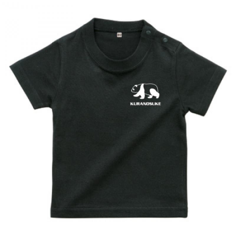 ワンポイントデザインのベビーTシャツ