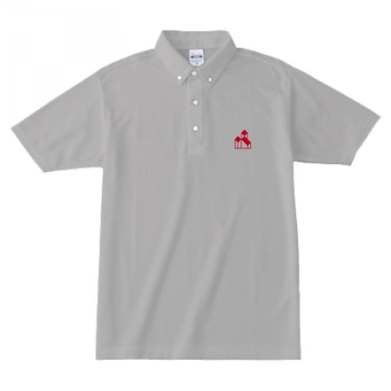 Printstar 4.9oz ボタンダウンポロシャツ