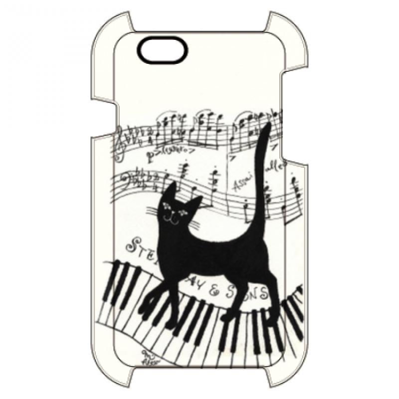 楽譜とクロネコ オリジナルiPhoneケース