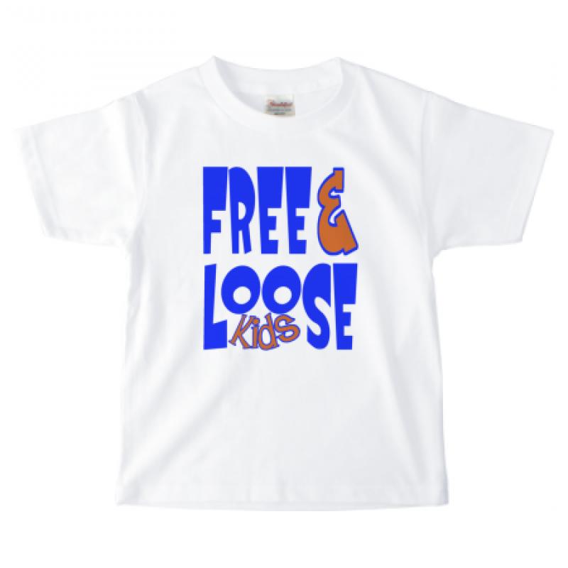 ポップな書体のTシャツデザイン