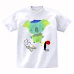 お子さんの手描きイラストでオリジナルTシャツを作成