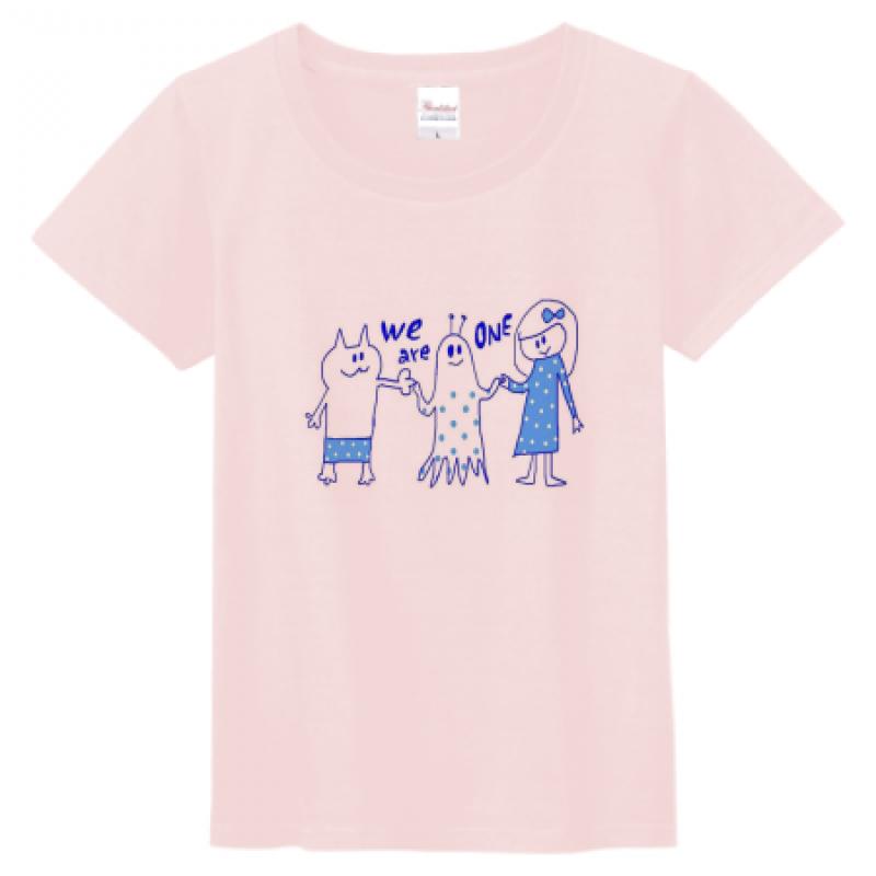 手描きイラストで作成したオリジナルTシャツ