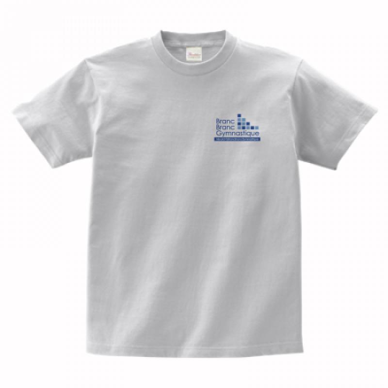 左胸にワンポイントデザインをプリントしてオリジナルTシャツを作成