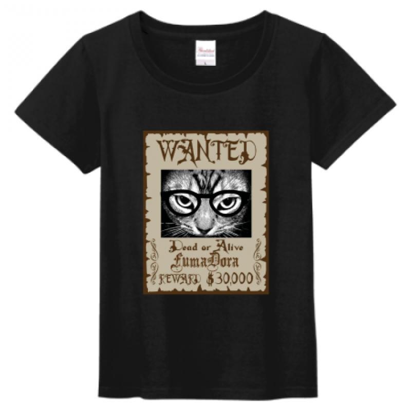 ユニークなデザイン!猫のオリジナルプリントTシャツ