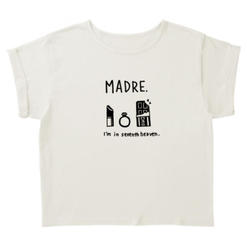 ママのおしゃれイラストでTシャツを作成