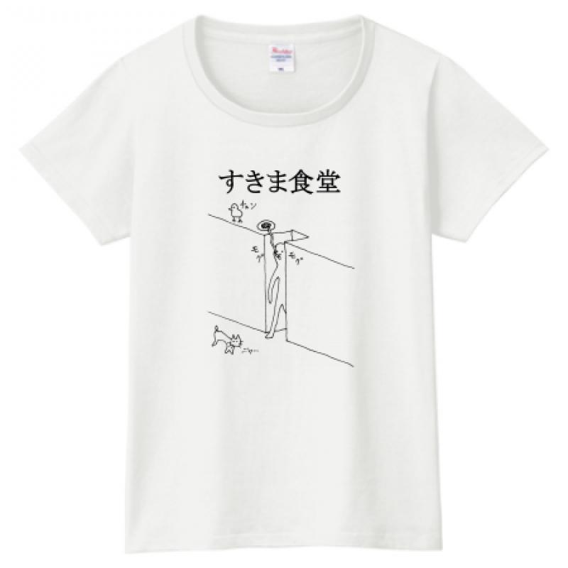 ゆるいイラストをプリントしたオリジナルTシャツ