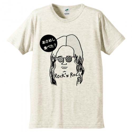 ミュージシャンのような似顔絵のオリジナルTシャツ