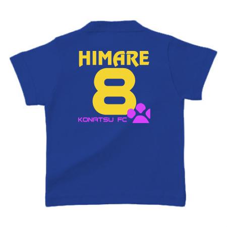 家族みんなに背番号!ファミリーのオリジナルTシャツ