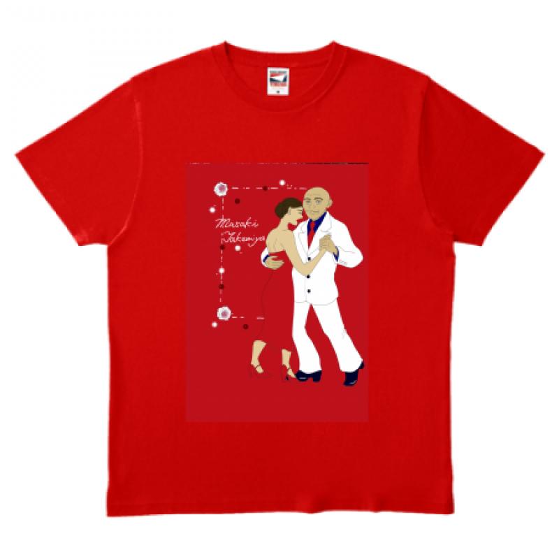 ダンス用オリジナルTシャツ