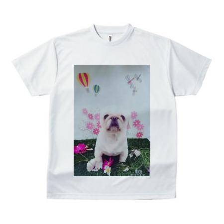愛犬写真のオリジナルTシャツ