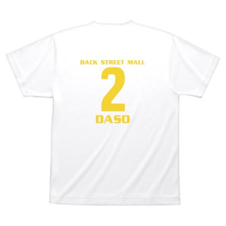 チームオリジナルのメッシュTシャツ