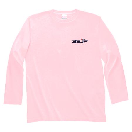 ワンポイントデザインのオリジナル長袖Tシャツ