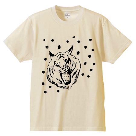 猫イラストのオリジナルTシャツ