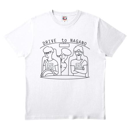 お出かけ用に特急でオリジナルTシャツを作成