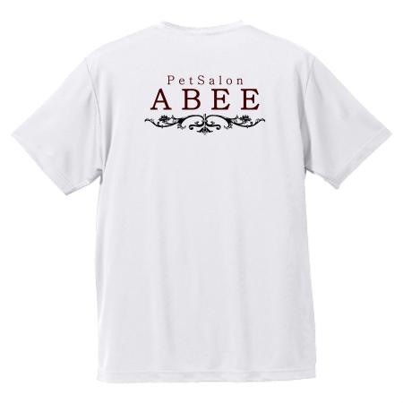 ペットサロンスタッフのオリジナルTシャツ