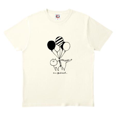 かわいい猫イラストのオリジナルTシャツ