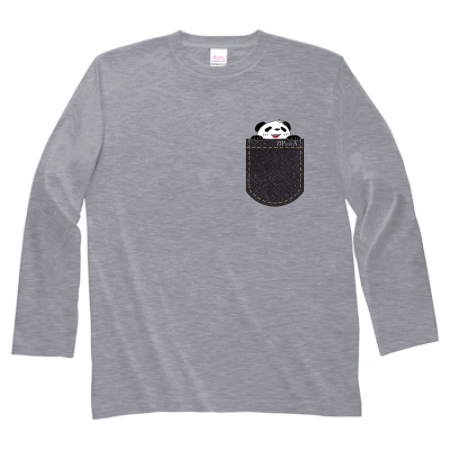 オリジナルデザインの長袖Tシャツ