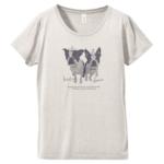 愛犬写真のカジュアルなオリジナルTシャツ