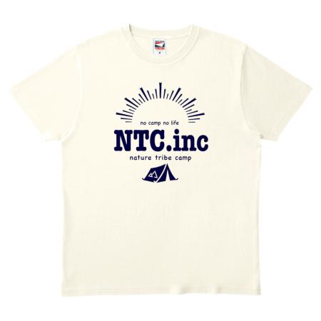 キャンプのロゴをプリントしたオリジナルTシャツ
