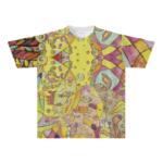 全面プリントのオリジナルTシャツ