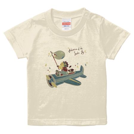 童話のようなイラストをプリントしたオリジナルベビーTシャツ