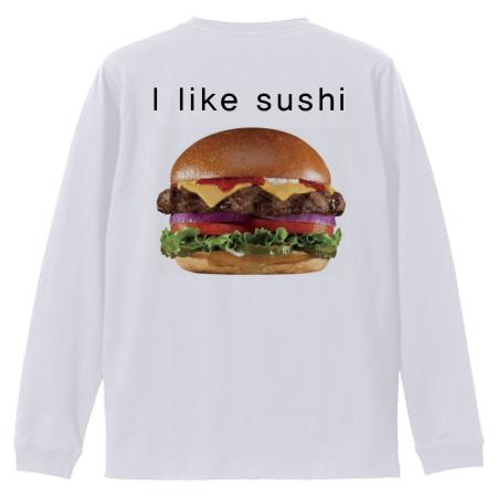 オリジナルイラストの長袖Tシャツ