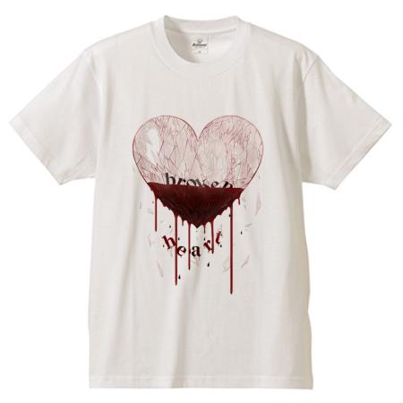 オリジナルのハートTシャツ