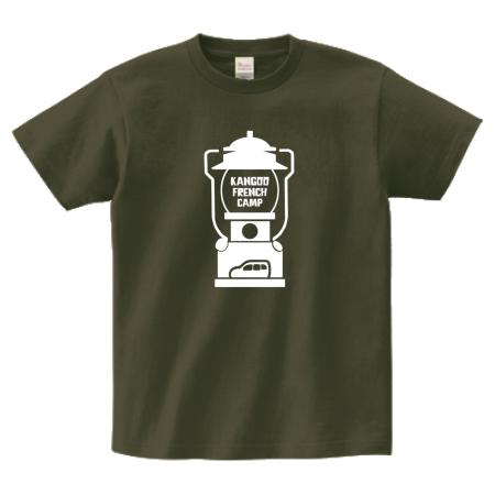 ランタンのイラストがおしゃれなオリジナルTシャツ
