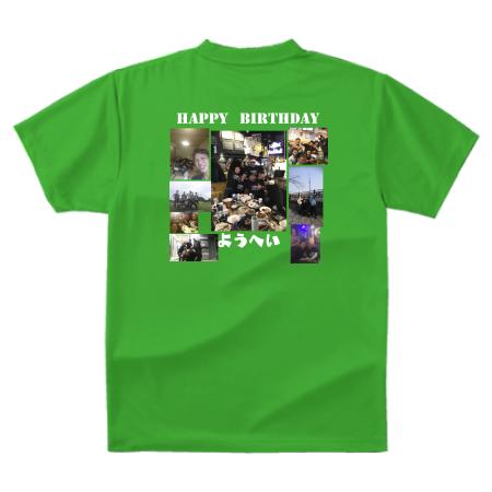 プレゼント用オリジナルTシャツ