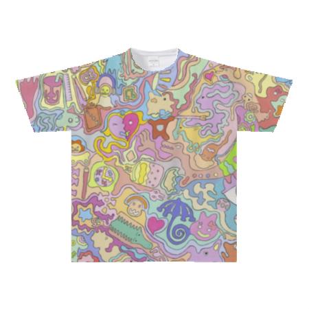 オールオーバーTシャツ