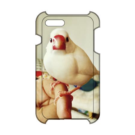 文鳥デザインのオリジナルiPhoneケース
