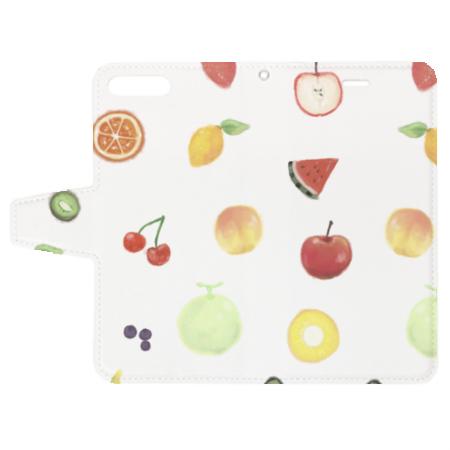 果物柄オリジナルiPhoneケース