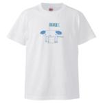 犬イラストのオリジナルTシャツ
