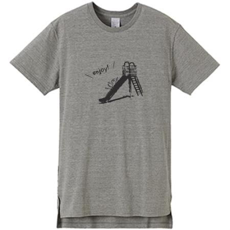オリジナルのロング丈Tシャツ