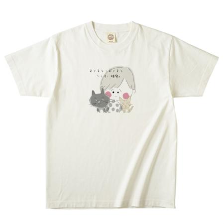 イラストコットンTシャツ