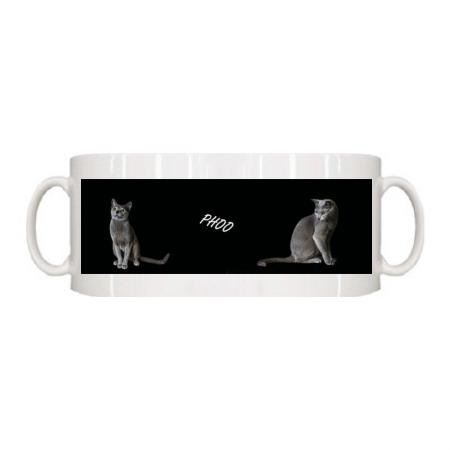 愛猫写真のオリジナルマグカップ