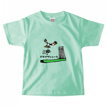 手描きイラストをプリント!キッズ用のサッカーチームTシャツ