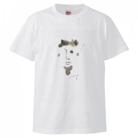 自作の水彩イラストでオリジナルTシャツを作成