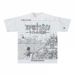 凝ったオリジナルイラストのTシャツ