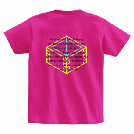工房のレディーススタッフTシャツ