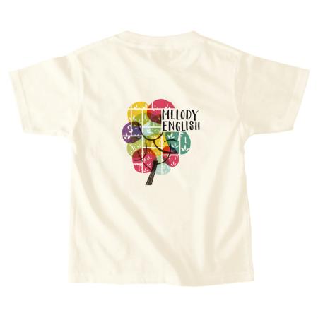 木モチーフデザインの可愛いオリジナルキッズTシャツ
