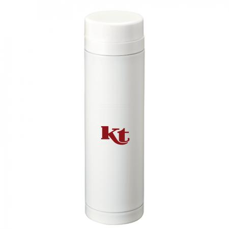 ワンポイントデザインのシンプルお洒落なオリジナルステンレスボトル