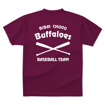 野球チームTシャツ