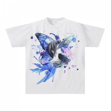 ドキッとする綺麗なイラストのTシャツ